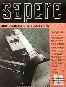 Il numero uno della rivista, pubblicato a Milano nel 1935.