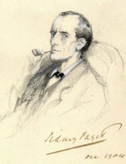 Sherlock Holmes in un'illustrazione del 1904 di Sidney Paget. Crediti: Wikimedia Commons
