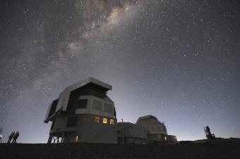 Il Telescopio Magellano in Cile, dove sono state condotte molte delle osservazioni sulla galassia Segue 1. Crediti: Anna Frebel