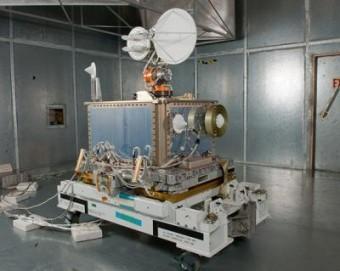 dello SCaN (Space Communications and Navigation) Testbed prima di essere inviato sulla Stazione Spaziale Internazionale. Crediti: NASA