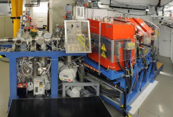 Il TransActinide Separator and Chemistry Apparatus (TASCA) al GSI di Darmstadt, l'apparato con cui è stata confermata l'esistenza dell'elemento superpesante 117. Crediti:  G. Otto, GSI Helmholtz Center for Heavy Ion Research