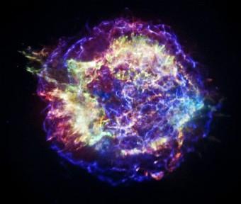 Cassiopeia A. Crediti: NASA