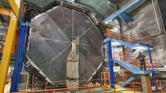 L'esperimento MINOS. Crediti: Reidar Hahn, Fermilab