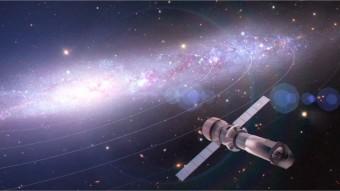 Rappresentazione artistica del futuro osservatorio spaziale nei raggi X Athena.  Crediti: The Athena Team