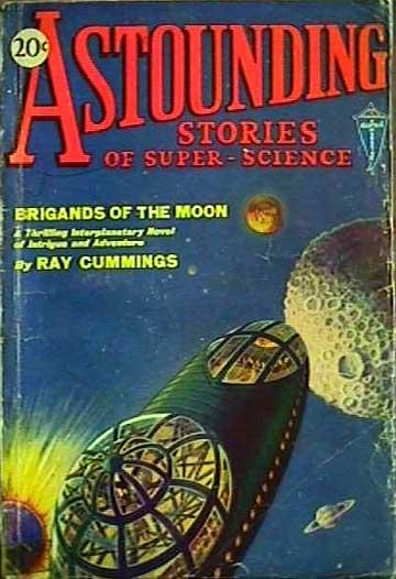 Copertina di un famoso pulp-magazine, marzo 1930