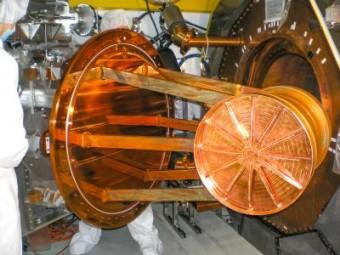 Un dettaglio del rivelatore EXO-200. Crediti: SLAC