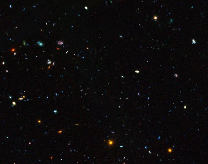 Crediti: NASA, ESA, il team GOODS  e M. Giavalisco (STScI/University of Massachusetts)