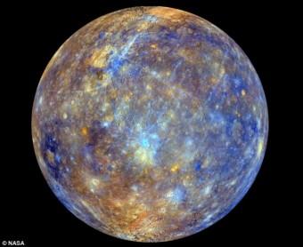 Mercurio ripreso dalla sonda Messenger. Crediti: NASA
