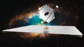 Ecco l'aspetto che potrebbe avere il futuro telescopio spaziale. Crediti: NASA