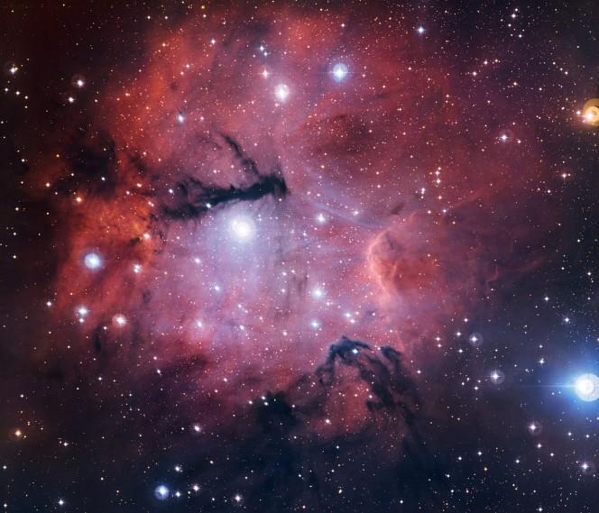 La regione di formazione stellare Gum 15. Crediti: ESO