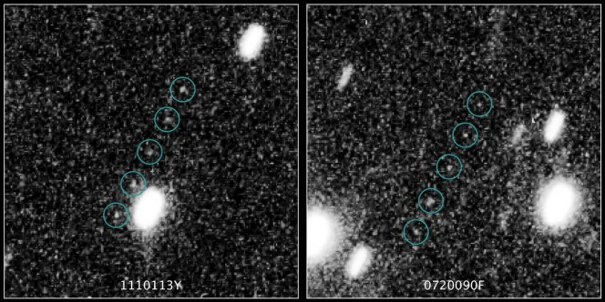 I due piccoli pianeti ghiacciati scoperti nella Fascia di Kuiper