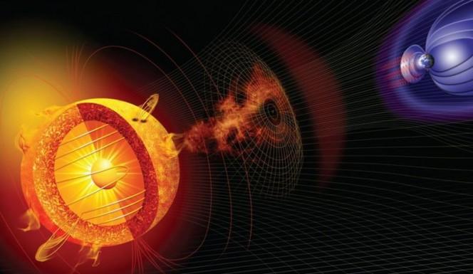 Il brillamento solare che si è verificato sul lato opposto della nostra stella il 4 giugno 2011 ha emesso una quantità di neutroni insufficiente a raggiungere la magnetosfera terrestre. La sonda NASA Messenger, in orbita su Mercurio, ha però registrato l'evento offrendo una nuova tecnica per studiare il fenomeno delle gigantesche esplosioni solari. Crediti: NASA.