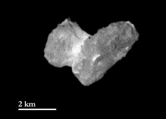 Una immagine della cometa realizzata dalla camera OSIRIS dalla distanza di 1950 km dalal cometa il 29 Luglio. Credits: ESA/Rosetta/MPS for OSIRIS Team MPS/UPD/LAM/IAA/SSO/INTA/UPM/DASP/IDA