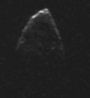 Il Near Earth Object 1950 DA. Crediti: NASA