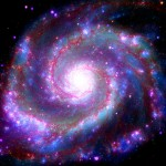 m51whirlpoolgalaxyngc5194spitzer