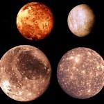 le lune di Giove