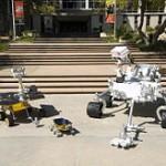 Le dimensioni di Curiosity a confronto con quelle dei suoi predecessori, il Mars Exploration Rover ed il Sojourner  Credit: NASA