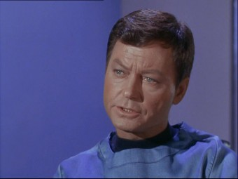 Screenshot dal DVD originale del film Star Trek - The Original Series (1966)