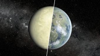 Venere e Terra a confronto. Crediti: NASA/JPL-Caltech/Ames