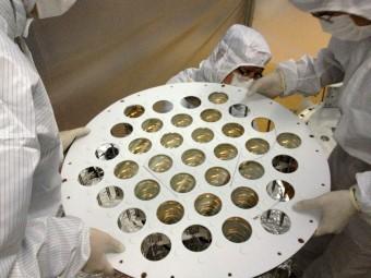 Una fase della costruzione del rivelatore di PandaX nel Jinping Underground Lab. Crediti: Shanghai Jiao Tong University