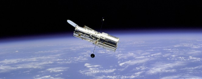 Hubble Space Telescope. Crediti: NASA.