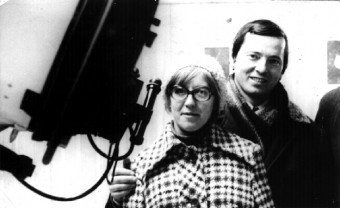 Svetlana Gerasimenko e Klim Churyumov, scopritori nel 1969 della cometa 67P, ritratti nel 1975 a Dushanbe, in Tajikistan. Crediti: Klim Churyumov