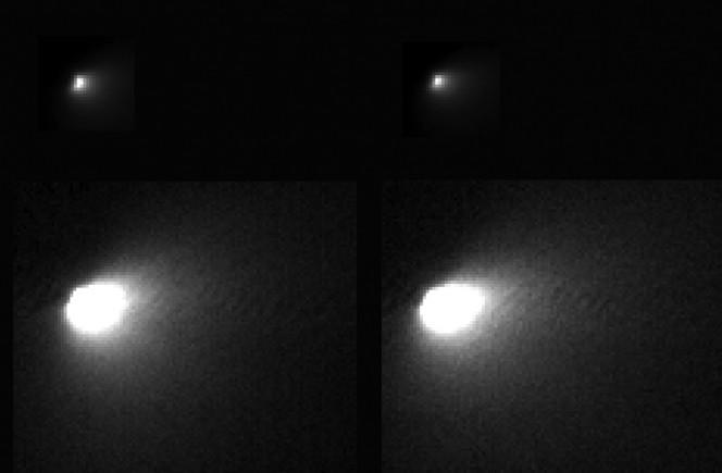 Queste immagini sono state scattate dalla camera HiRISE montata sulla sonda MRO (Mars Reconnaissance Orbiter). Credit: NASA/JPL-Caltech/University of Arizona