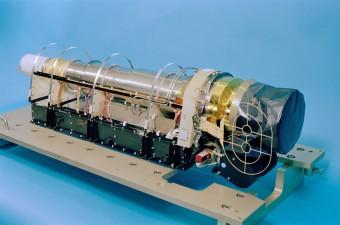 Lo strumento RTOF, uno dei due spettrometri di massa dell'esperimento ROSINA, a bordo dell'orbiter Rosetta dell'Agenzia Spaziale Europea. Crediti: ESA/Rosetta