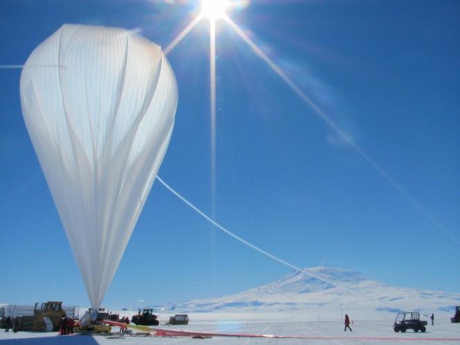 Uno dei palloni lanciato qualche anno fa nell'ambito del Balloon Program della NASA