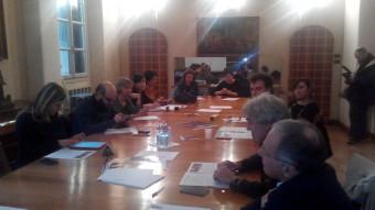 La conferenza stampa in una delle prestigiose sale del Bo di Padova