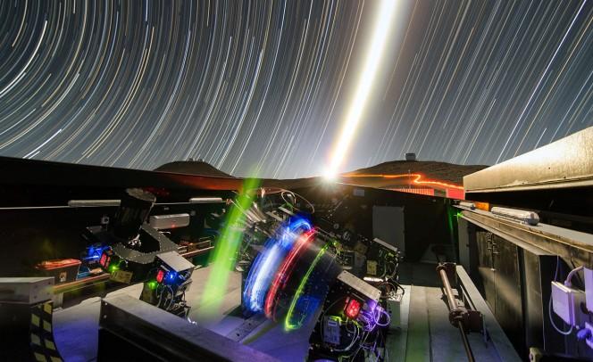 L'NGTS (Next-Generation Transit Survey o strumento per survey di transito di nuova generazione) si trova all'Osservatorio dell'ESO al Paranal nel Cile settentrionale. Crediti: ESO/G. Lambert