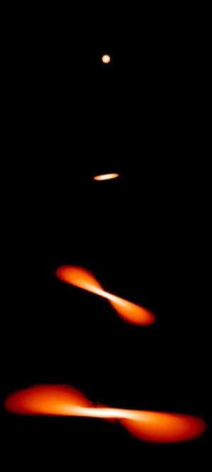 Ecco cosa succede a una stella quando si scontra con un buco nero