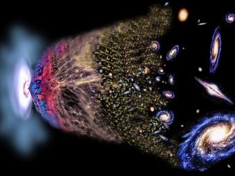 Visione artistica del Big Bang. Crediti: David A. Aguilar