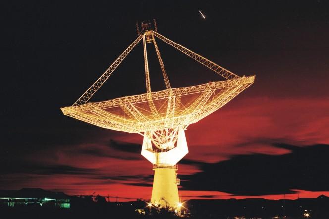 Una delle antenne GMRT in India