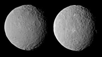 Cerere osservata da Dawn il 19 Febbraio, da una distanza di circa 46,000 chilometri. Credit: NASA/JPL-Caltech/UCLA/MPS/DLR/IDA