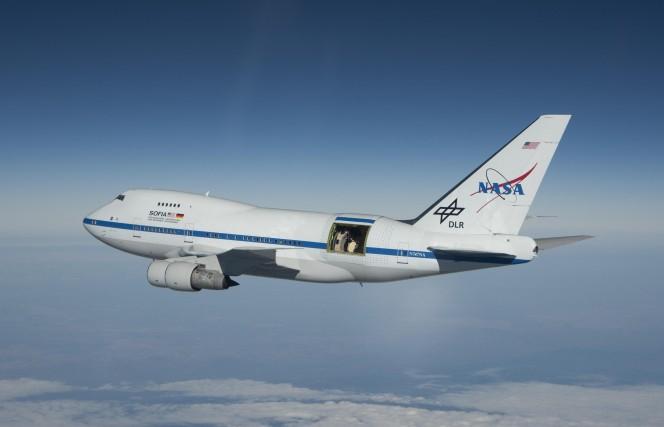 Stratospheric Observatory for Infrared Astronomy (SOFIA) . Crediti: NASA / Jim Ross