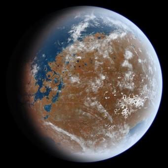 L'antica acqua di Marte, l'inserimento nel campo gravitazionale di Cerere della sonda Dawn e un altro passo in avanti verso la scansione del buco nero supermassiccio della nostra galassia