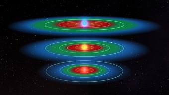 L'immagine mostra uno schema delle diverse zone abitabili (indicate in verde) per stelle di diversa massa e temperatura. Crediti: NASA/Kepler Mission/Dana Berry