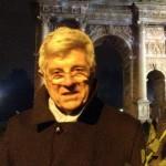 Il Prof. Bignami tra i flashmobber dello scorso dicembre a Milano