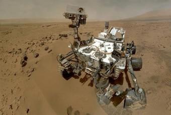 Il rover Curiosity ha rilevato variazioni di metano sulla superficie di Marte. Crediti: NASA
