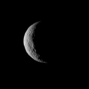 Cerre visto da Dawn il primo di marzo da una distanza di 40mila km. Crediti: NASA/JPL-Caltech/UCLA/MPS/DLR/IDA