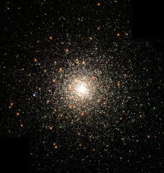 L'ammaso globulare M80 nella costellazione dello Scorpione. Crediti: HST/NASA/ESA