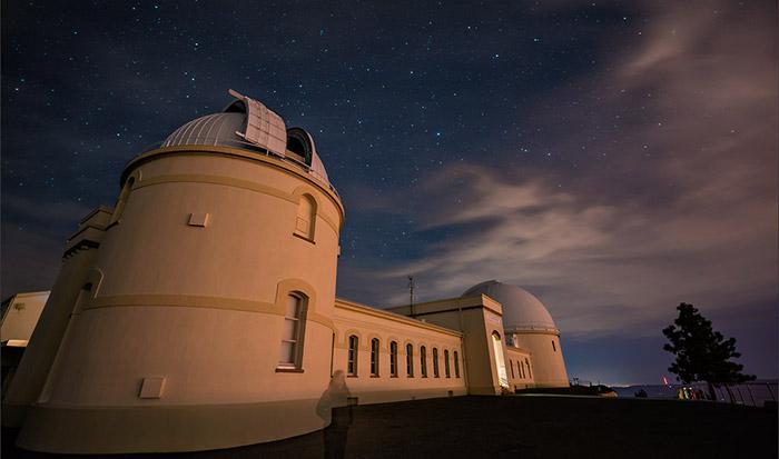 Il Lick Observatory, dove si trova lo strumento NIROSETI.
