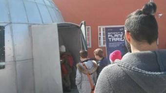 L'ingresso al Planetario INAF Credits: Primonumero.it