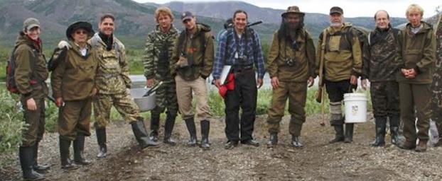 La spedizione di Bindi e colleghi in Kamčatka. Crediti: UniFI