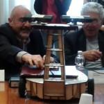 Da sx a dx: Luigi Amodio, Vittorio Silvestrini e Eugenio Gaudio