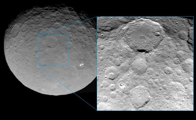 L'ultima immagine di Cerere realizzata da Dawn prima dell'inizio della fase di Survey a inizio Giugno. Crediti : NASA/JPL-Caltech/UCLA/MPS/DLR/IDA