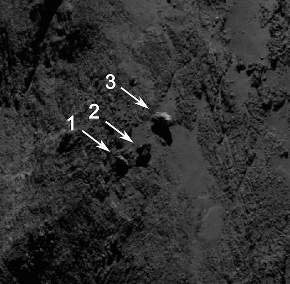 ESA_Rosetta_OSIRIS_20140916_labelled