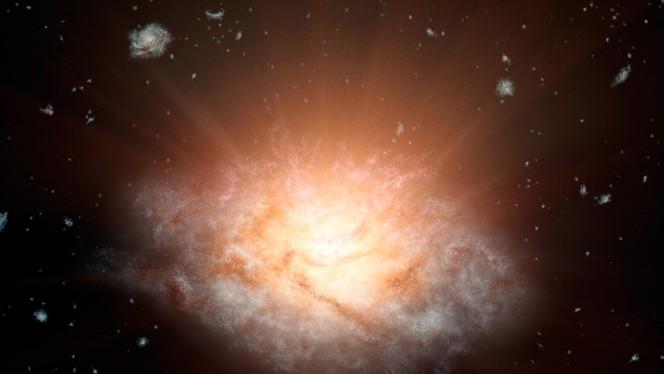 La galassia più luminosa dell'Universo, la stella più strana finora osservata e la correlazione tra i raggi gamma e la materia oscura