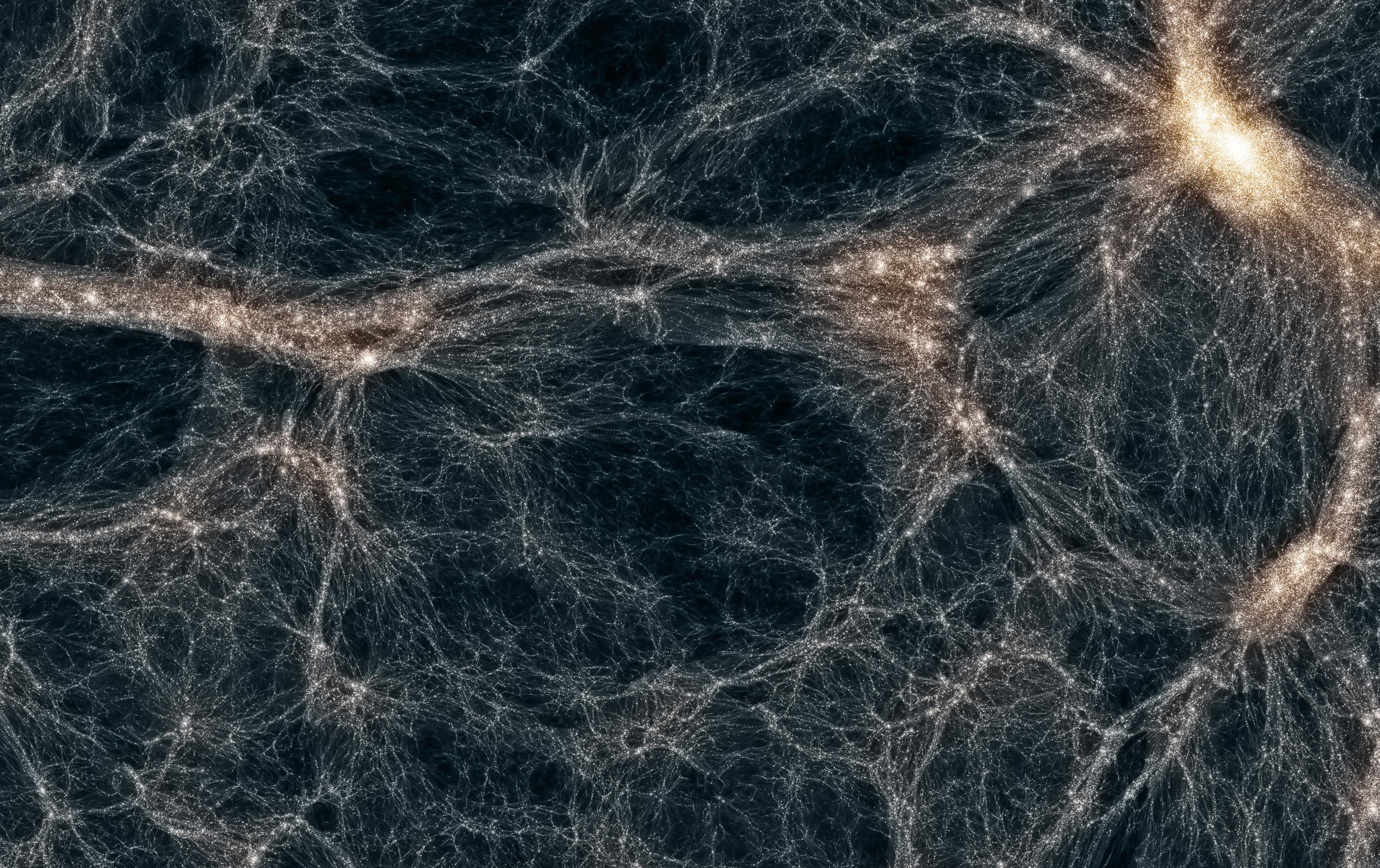 Bagliori di WIMPs nel cielo di Fermi